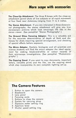 Kodak Retina IIIc - How to use it -  Page 30 (Gareth Wonfor (TempusVolat)) Tags: kodak camera model manual guide instructions how vintage instruction 1950s art design graphics scan film 35mm photography instrument information info old scanned scans mrmorodo gareth retinaiiicretina iiic viewfinder chromeage kodakag booklet howto book reading read pages steps printed material shared pamphlet leaflet tempusvolat tempus volat epsonscanner flickr getty interesting image picture gw smallc retinaiiic kodakretina howtouseit garethwonfor mr morodo epson perfection v200 scanner scanning wonfor