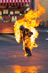 Dude's on fire! [Explored 1/30/14 #270] (Kevin-Davis-Photography) Tags: world show fire lights action disney motor