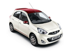 Nissan launches the limited edition new Micra (www.Boxfox1.com) Tags: auto car japanese nissan micra limitededition 2014