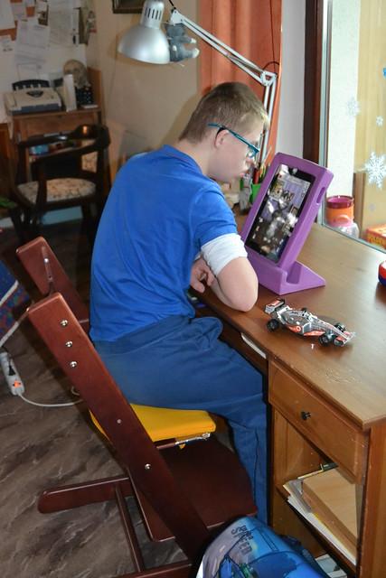 Thumbnail for Jak s iPadem pracoval Tadeáš