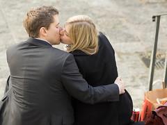 First Kiss (neilcar) Tags: england london kiss unitedkingdom firstkiss