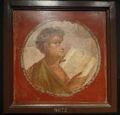 Joven con papiro (ovando) Tags: pompeya fresco pintura escritura decoracin