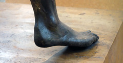 Artemision Zeus or Poseidon (detail of foot), c. 460 B.C.E.