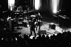 Nick Cave and the Bad Seeds. Nashville, TN. 2013. (freedomflash) Tags: leica blackandwhite music film concert tn nashville tennessee live country delta 3200 nickcave m6 ryman badseeds micahmccoy auditoruium