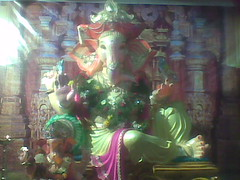 Malai (bhagwathi hariharan) Tags: god lord ganesh vasai virar ganpathi nalasopara nallasopara