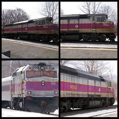 MBTA (Littlerailroader) Tags: railroad massachusetts newengland andover locomotive passenger mbta commuterrail locomotives railroads mbcr passengertrains railfans commutertrains andovermassachusetts