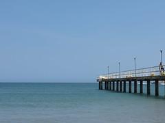 Muelle (Erick (Rebaya17)) Tags: azul muelle mar agua barca barco playa cielo vargas canoa horizonte lancha marcaribe caribe toldo ngeles peero guaira laguaira losngeles churuata naiguat