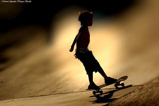 Skate Park, parque de Los Reyes.