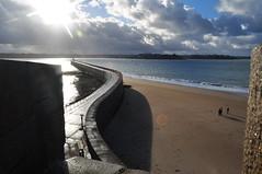 Baie de St Malo (Chaufglass) Tags: mer france automne landscape nikon marine bretagne paysage saintmalo illeetvillaine