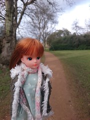 Third Generation Licca (OngakuHezaa) Tags: winter cold garden doll surrey third windsor generation licca wrapup englefieldgreen savill liccachan