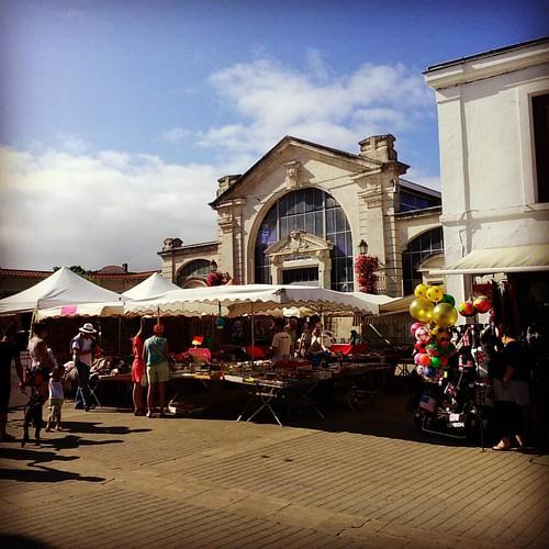 Le marché de Soulac sur mer