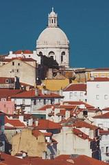 Lisbon (W140) Tags: world city trip travel houses portugal architecture canon buildings europe cityscape cathedral lisboa lisbon capital 2013 canon400d