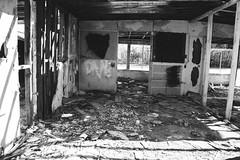 heart was here (kelly lynn richards) Tags: blackandwhite heart abandon saltonsea bombaybeach nilandca twophotogs