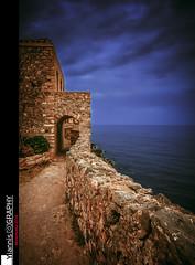 Monemvasia 2016 the return (II) (Yiannis Chatzitheodorou) Tags: sea sky clouds medieval greece walls monemvasia peloponnese