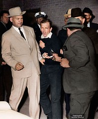 Colorized by me: Lee Harvey Oswald assassination. [1237x1507] #HistoryPorn #history #retro http://ift.tt/1VkFfNr (Histolines) Tags: history me by retro colorized lee harvey timeline oswald assassination vinatage historyporn histolines 1237x1507 httpifttt1vkffnr