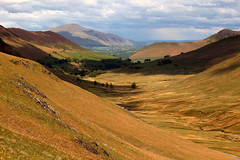 Newlands (Cumberland Patriot) Tags: road park uk england mountain lake mountains english landscape outdoor district hill pass hills national valley cumbria gradient range cumberland slope newlands steep blencathra cumbrian threlkeld