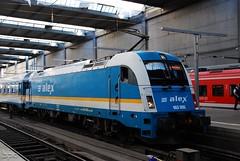 183.005 (Tams Tokai) Tags: alex eisenbahn zug bahn alx 1216 vonat vast es64u4