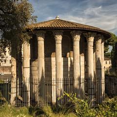 Temple of Hercules, 2nd C BCE (mindweld) Tags: italy rome templeofhercules