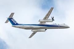 ANA Wings DHC-8-402Q Dash 8 JA859A (A.S. Kevin N.V.M.M. Chung) Tags: plane ana aircraft aviation aeroplane fukuoka takeoff dash8 fuk