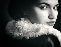 Cassie (Ian_Boys) Tags: portrait bw beautiful 50mm nikon fuji cassie fujifilm seriese xt1 pixapro led100d