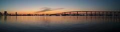 Coronado Bay Bridge (larisavoronina) Tags: sunrise dawn coronado coronadobaybridge