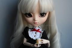 Coffee. (Juju DollPassion) Tags: coffee animal eyes doll dolls wig pullip custom custo