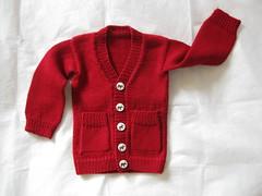 Playdate (gingergooseberry) Tags: knitting baby boy cardigan 2016 ravelry