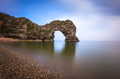 Durdle door (nhr rally) Tags: canon700d canon1022 jurassiccoast 10stop longexposure water rock lightroom dorset 10mm wide