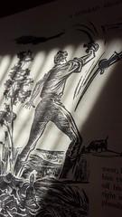 Swashbuckling (Mamluke) Tags: swashbuckling swordfighting swords illustration hansalexandermueller mueller 1940s 1942 book paper aconradargosy conrad joseph mamluke josephconrad sunlight sunlit lit