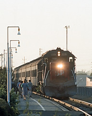 SP Train 127 at Palo Alto, CA on September 9, 1977 (railfan 44) Tags: southernpacific