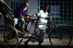 You mockin' me man !! (N A Y E E M) Tags: rickshaw candid passenger light today afternoon street navalavenue chittagong bangladesh sooc raw unedited untouched unposed carwindow
