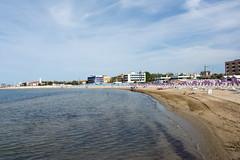 Lido (grasso.gino) Tags: italien sea italy beach nikon meer shore marche marken kste fano strrand d5200