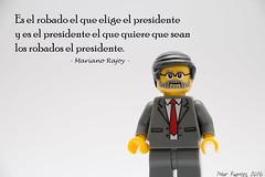 #26J (Marmotuca) Tags: lego pp elecciones marianorajoy partidopopular 26j eleccionesgenerales