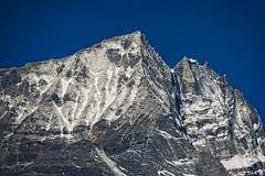 Mountain Peak, Khumbu (Everest) region, Nepal (CamelKW) Tags: nepal khumbu 2016 mountainpeak everestregion everestpanoram