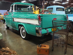 1957 Chevrolet Cameo Pickup 'K 83 793' 4 (Jack Snell - Thanks for over 24 Million Views) Tags: 2 chevrolet pickup 1957 cameo 793 k83