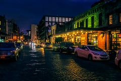 Ganesvoort Market, NY (Arutemu) Tags: city nyc newyorkcity urban usa ny newyork night america canon evening us cityscape view nightscape nightshot unitedstates manhattan sigma ciudad nighttime american citylights metropolis  ville  nightstreet nuevayork  6d       2470   eos6d     canon6d