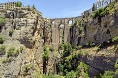 Ronda Mlaga (D. Lorente) Tags: espaa naturaleza nature ro puente nikon ciudad dlorente