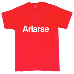arlarse t-shirt (rethinkthingsltd) Tags: birthday christmas boss baby home kitchen up liverpool ma design tshirt parry livingroom made card sound mug greetings decor coaster cushion greeting madeup yerma yer scouser ilsa babygrow eeee laffin chocka jarg typograhic arlarse rethinkthings geggin gegginin