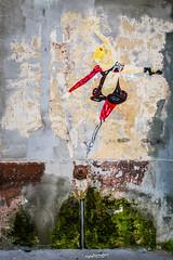 Street art sur les murs de Lyon 7 (Elie RIVIERE) Tags: danceuse france lyon lyon7 peinturemurale personnage streetart rhne