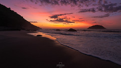 Sunrise @Abricó Beach, #RiodeJaneiro, #Brazil (rafa bahiense) Tags: travel pink blue light sunset shadow red brazil orange sun sunlight white black colour green beach southamerica beautiful yellow riodejaneiro sunrise wonderful dark relax landscape happy photography photo nikon flickr waves peaceful explore stunning meditation therapy lovely nikkor carioca discover d610 wonderfulcity 500px d7000 rio2016 rio450anos rafabahiense
