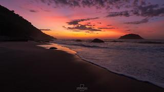Sunrise @Abricó Beach, #RiodeJaneiro, #Brazil