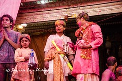 Barsana Nandgaon Lathmar Holi Low res (11 of 136) (Sanjukta Basu) Tags: holi festivalofcolour india lathmarholi barsana nandgaon radhakrishna colours