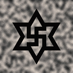 six pointed star | square swastika #2 (synartisis) Tags: square star symbol swastika hexagram six pointed raelian