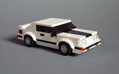 1986 Ford Mustang GT (MOCs & Stuff) Tags: city ford town lego body fox mustang gt