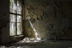 A Touch Of Light... (Strange Artifact) Tags: olympus em10 mkii mark2 mzuiko 25mm 18 urbex urban exploration ue abandoned decay germany cccp hospital woods