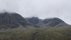 cold hole (Francis Mansell) Tags: cliff cloud mountain scotland outdoor scree westerross crag scottishhighlands coirelair fuartholl mainreachanbuttress coiremainnrichean