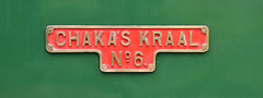 Hunslet 2075 Chakas Kraal no 6 (davids pix) Tags: 6 steam locomotive gauge narrow nameplate kraal 2075 2016 toddington hunslet chakas 30052016