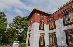 Colorful building (Nitya..) Tags: travel june museum nikon tibet institute nikkor sikkim gangtok 2016 1685 namgyal tibetology d5200