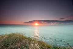 Coucher de Soleil (Superdam76) Tags: capfagnet sunset coucherdesoleil ciel mer goldenhour heuredore filtregnd06 filtregnd09 nature littoral france frenchcoast sea sky fcamp