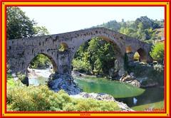 Roman Bridge, Picos de Europa (vicbrasil) Tags: barcelona madrid people men children spain women bilbao zaragoza santiagodecompostela montserrat oviedo sansebastian pamplona santillanadelmar